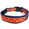 Little Sailors Red on Navy Dog Collar 2