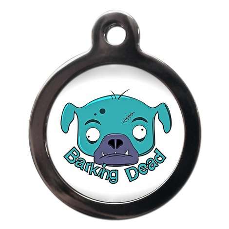 Barking Dead Dog ID Tag