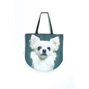DekumDekum - Snowflake the Chihuahua Dog Bag