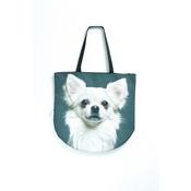 DekumDekum - Snowflake the Chihuahua Dog Bag