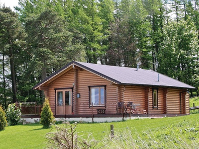 Fingask Log Cabin, Perth and Kinross, Duncrievie