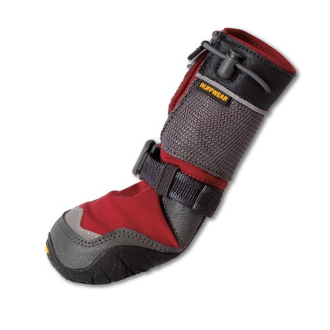Set of 4 Ruffwear Polar Trex Boots - Red Rock