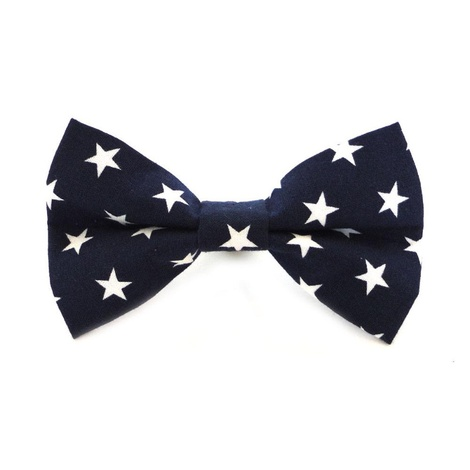 Midnight Star Dog Dickie Bow