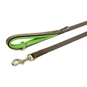 Dogs & Horses - Green Colours Leather Lead