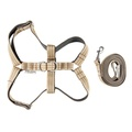 Active Dog Harness & Lead Set - Khaki
