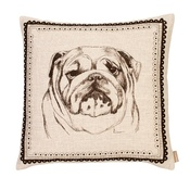 Amy Brocklehurst - Bulldog Cushion