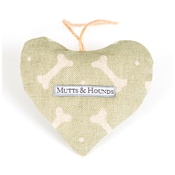 Mutts & Hounds - Scented Heart - Sage