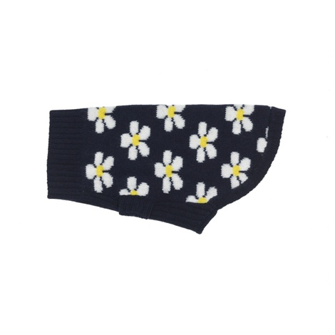 Daisy Floral Cashmere Dog Sweater