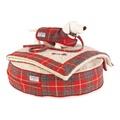 Hoxton Tartan Harris Tweed Dog Coat 4
