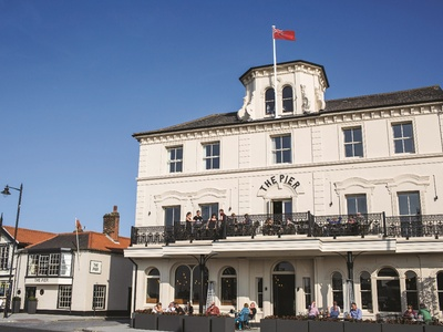The Pier Hotel, Essex, Harwich