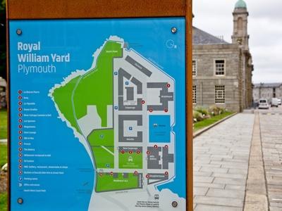 The Bosuns Locker, The Brewhouse, Royal William Yard, Plymouth