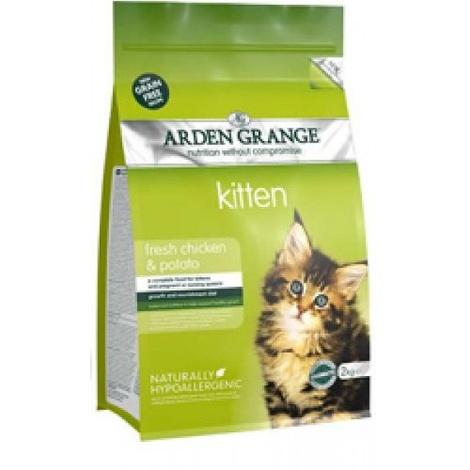 Arden Grange Grain Free Kitten Dry Cat Food 2kg