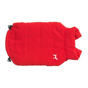Fleece Lined Dog Gilet – Red