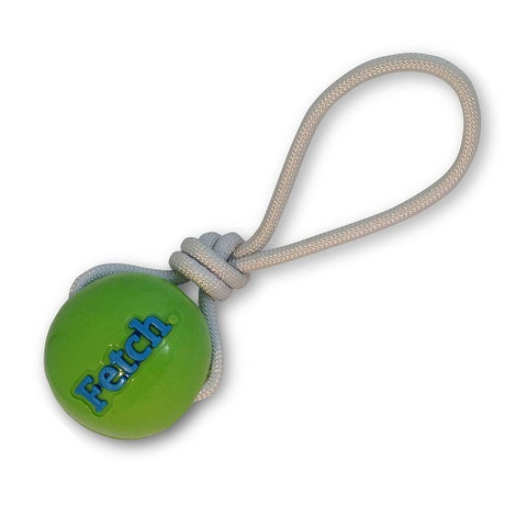 Orbee-Tuff FETCH Ball with Rope - Green