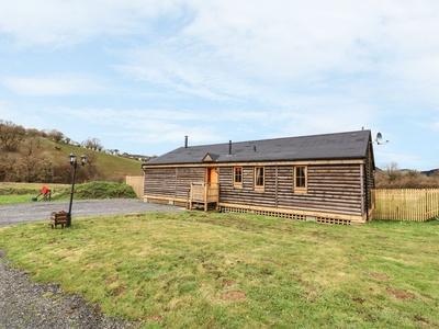 Alpaca Cabin, Powys, Llanbrynmair