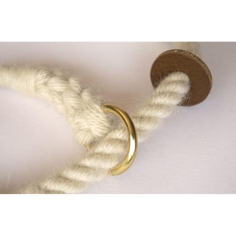 Rope Slip Lead - Au Naturel 2