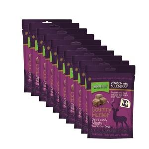 Freeze Dried Venison Blueberries Treats Dog Treat x 10