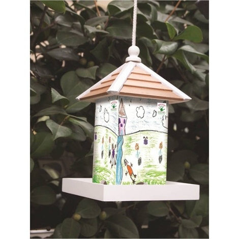 The Magical Garden Bird Feeder