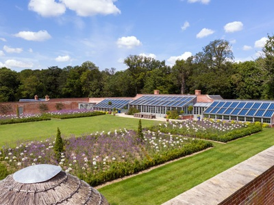 Wilderness - Walled Garden, Suffolk, Saxmundham