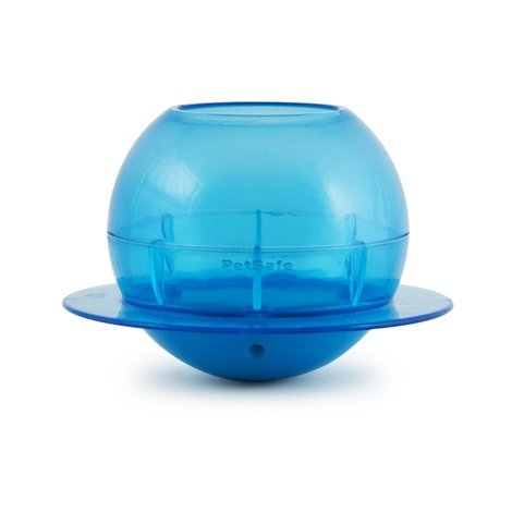 Fishbowl Cat Feeder Toy 2