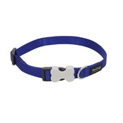 Red Dingo - Plain Dog Collar - Blue