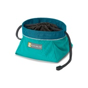 Ruffwear - Quencher Cinch Top Bowl - Meltwater Teal