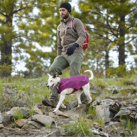 Ruffwear Sun Shower Jacket - Purple Dusk  3