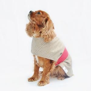 Pandora Tweed Dog Coat