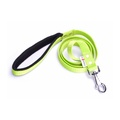 Fleece Comfort Dog Lead – Neon Green