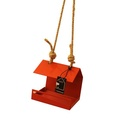 Bauhaus Bird Feeder - Orange 3