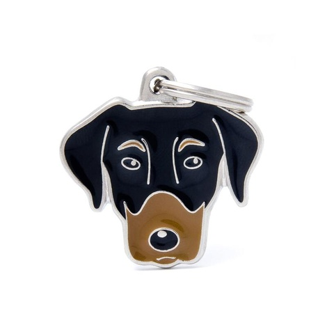 Doberman Engraved ID Tag