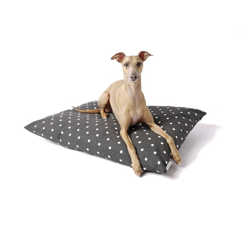 Cotton Top Day Bed - Dotty Charcoal
