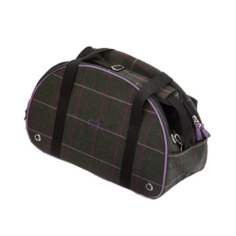 Kensington Pet Carrier - Tweed Green Check