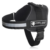 Cool Dog Club - Cool Dog K9 Trek Harness in Black