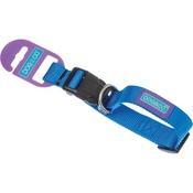 Hem & Boo - Adjustable Blue Nylon Dog Collar