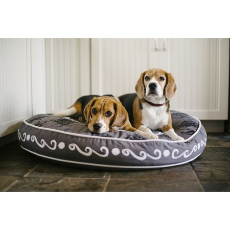 Cameo Round Dog Bed  4