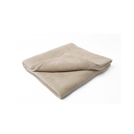 Double Fleece Dog Blanket - Camel