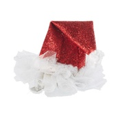 House of Paws - Party Hat Mini Santa Hat Hair Clip