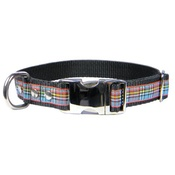 CanineAllStars - Scottish Anderson Tartan Dog Collar – Black
