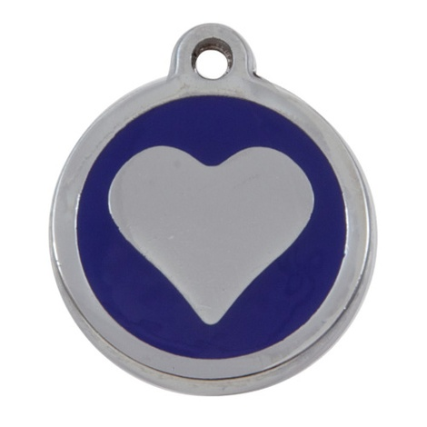 My Sweetie Blue Heart Pet ID Tag