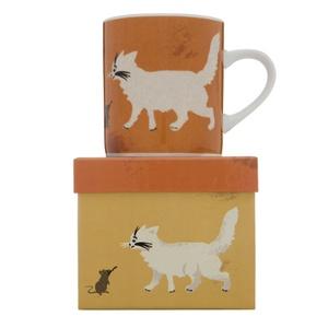 Cat Mug - Minty