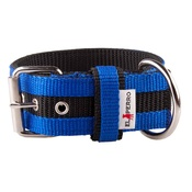 El Perro - Juicy Strip Dog Collar - Royal Blue