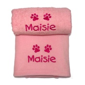 My Posh Paws - Personalised Puppy Gift Set - Pink