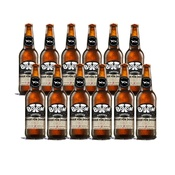 Woof & Brew - 12-Pack Bottom Sniffer Dog Beer