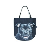 DekumDekum - Yoshi the Staffordshire Bull Terrier Dog Bag