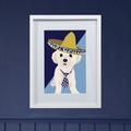 Framed Bespoke Pet Portrait 3