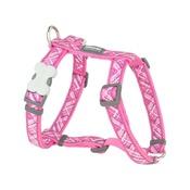 Red Dingo - Flanno Dog Harness – Hot Pink