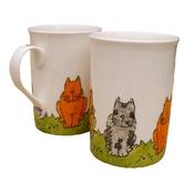 Laura Lee Designs - Classic Cats Mug