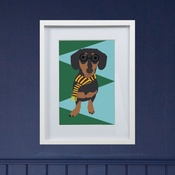 Lorna Syson - Framed Bespoke Pet Portrait