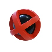 Tough Toys - Tough Toys Boingo Ball – Red